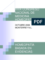 HOMEOPATIA BASADA EN EVIDENCIA II.ppt