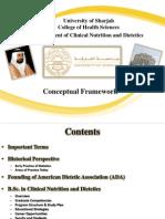 CN&D Program- Conceptual Framework