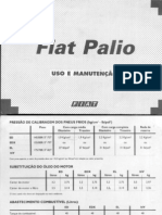 Manual Do Fiat Palio Versões 96-99 El, Ed, Edx e 16v