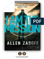 I Am the Mission (The Unknown Assassin #2) by Allen Zadoff (Preview)