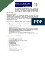Sales Training Module - Prabhat Pandey