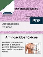 Aminoácidos Toxicos