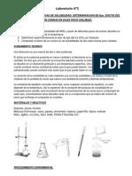 Laboratorio N5 quimica