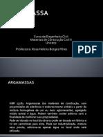 Principios de Argamassas
