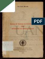 Ario Garza Mercado - Manual de Técnicas de Investigación Para Esrudiantes de Ciencias Sociales - UANL