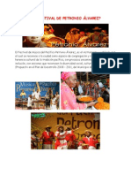 Qué Es El Festival de Petronio Álvarez