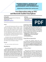 IJIRET K Mukambika Touch Driven Interaction Using an NFC and Bluetooth Enabled Smartphone