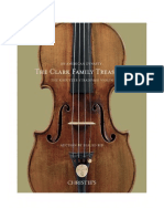 An American Dynasty- the Clark Family Treasures the Kreutzer Stradivari Violin