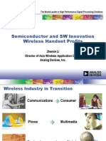 ADI (Semiconductor and SW Innovation Wireless Handset Profit