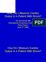 How Can I Measure Cardiac Output in a Patient With