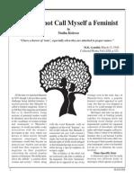 2 Why i Do Not Call Myself a Feminist