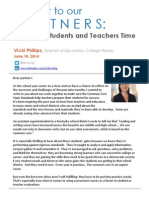 A Letter to Our Partners-Let%27s Give Students and Teachers Time (2)