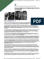 El MI6 Invirtió Millones en Sobornos en España Para Evitar Su Entrada en La II Guerra Mundial