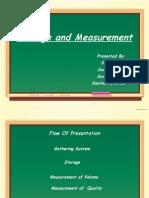 Storage and Measurement in crude oil E&P