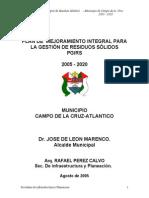 PGIRS Campo de La Cruz