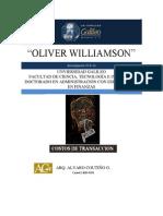 Investigación Oliver Williamson