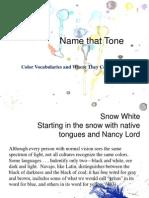 Name That Tone