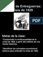 Power Clase Crisis 1929.