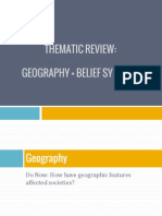 thematic review geography