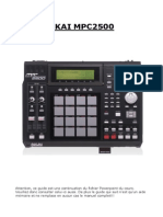 Guide Akai Mpc2500