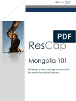 Mongolia 101
