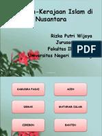 Kerajaan-Kerajaan Islam Di Nusantara