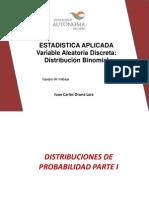 CLASE 2 Variable Aleatoria Distr Binomial
