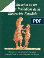 Libro - Labrador y de Pablos - La Educación en La Prensa Ilustrada Española