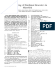 Optimal sizing of distributed generators in microgrid
