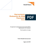 Functional Literacy Assessment Tool Spanish 2013