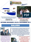 Informe Misionero El Salvador - Julio a Noviembre 2013.pptx