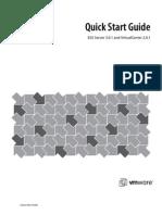 VMware Infrastructure Quick Start Guide