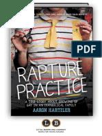 Rapture Practice by Aaron Hartzler (PREVIEW)