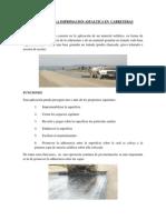 Importancia de La Imprimacion Asfaltica en Carreteras