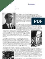 Linus Pauling Biography