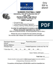 2014 July Football Camp Forms