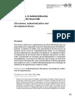 Ocampo 2008 Hirschmann e Industrialisación