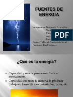 Fuentes de Energia