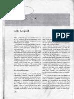 Aldo Leopold - The Land Ethic ver. 1