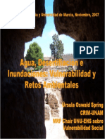 Oswald Murcia Aqua Desertifacion