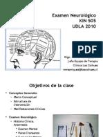Examen Neurologico UDLA 2010 c