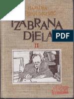 Banja Luka Razvoj Grada Hamdija-Kresevljakovic 1991 Izabrana Djela II