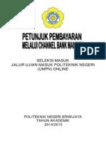 Petunjuk Pembayaran Online UMPN 2014