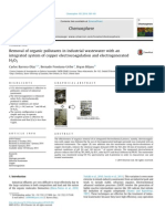 Removal of Organic Pollutants in Industrial Wastewater With An