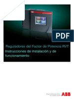 Automatic Power Factor Controller RVT Manual ES