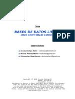 Bases de Datos Libres