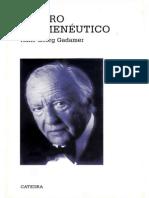 159022294 Gadamer El Giro Hermeneutico