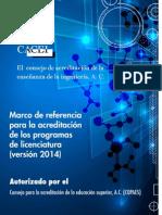 Nuevo Marco de Referencia CACEI 2014_evaluadores