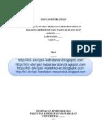 Hubungan Antara Kebiasaan Merokok Dengan Kejadian Hipertensi Pada Pasien Di RSUD (Proposal)