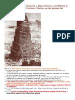 Gen 11 Babel y Su Significado Las Lenguas de Confusion Al Enemigo